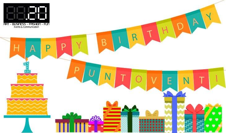 Happy birthday Puntoventi! - Blog, Puntoventi