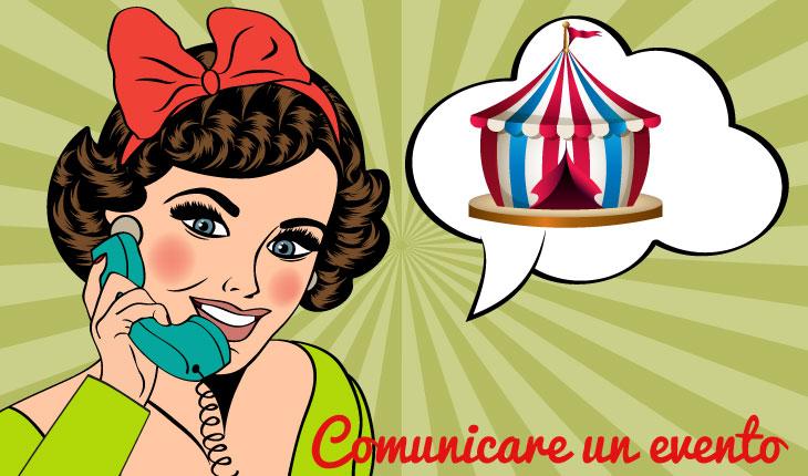 Comunicare un evento - Blog, Puntoventi