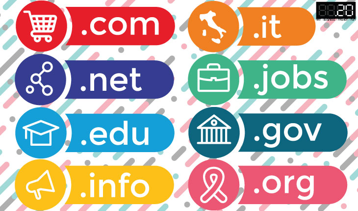 Come scegliere la giusta estensione di dominio in base al suo significato