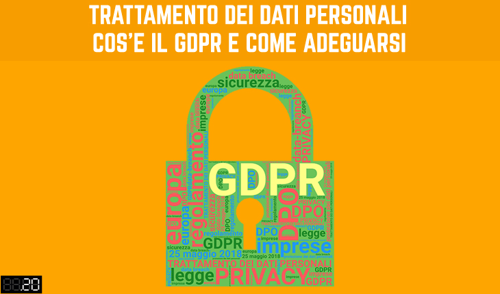 Trattamento dei dati personali: GDPR - Puntoventi