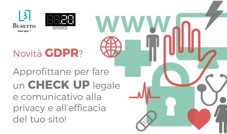 GDPR: rendi il tuo sito conforme subito!