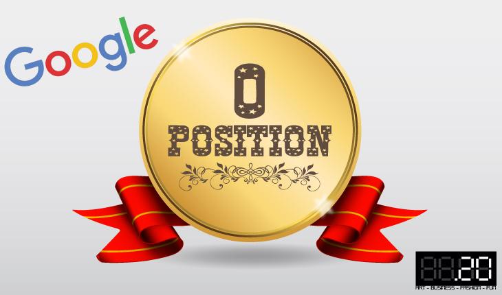 Posizione zero Google