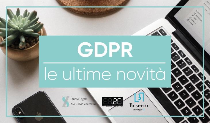 Novità GDPR per siti internet