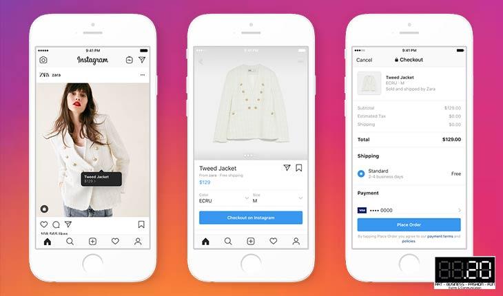 Instagram Checkout: lo shopping a portata di social