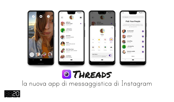 Threads la nuova app di messaggistica di Instagram