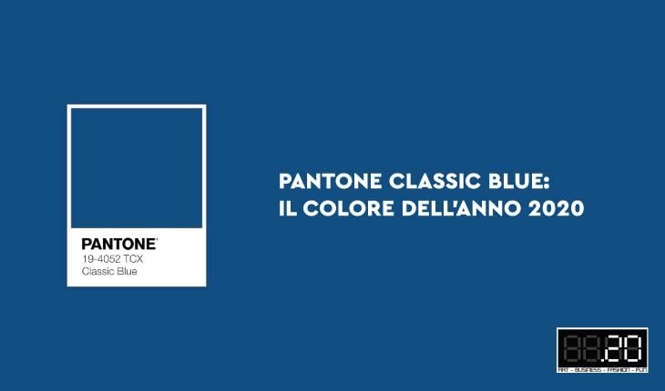 PANTONE Classic Blue: il colore dell'anno 2020