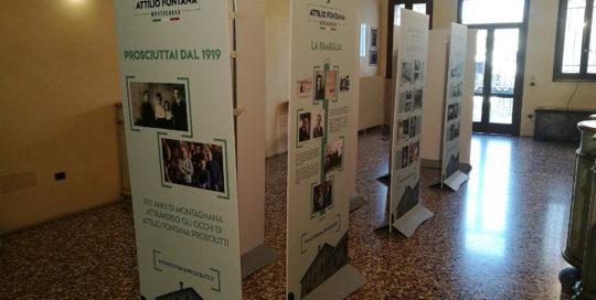 mostra 100 anni Attilio Fontana Prosciutti