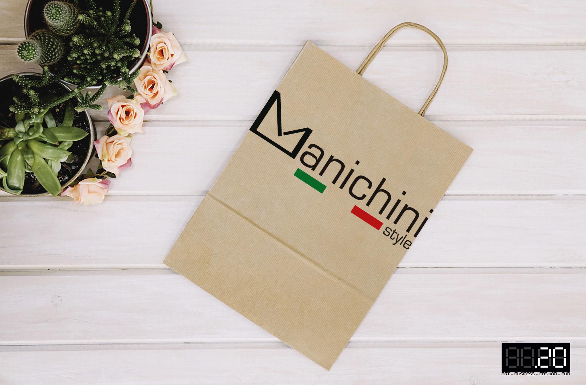 logo manichini style