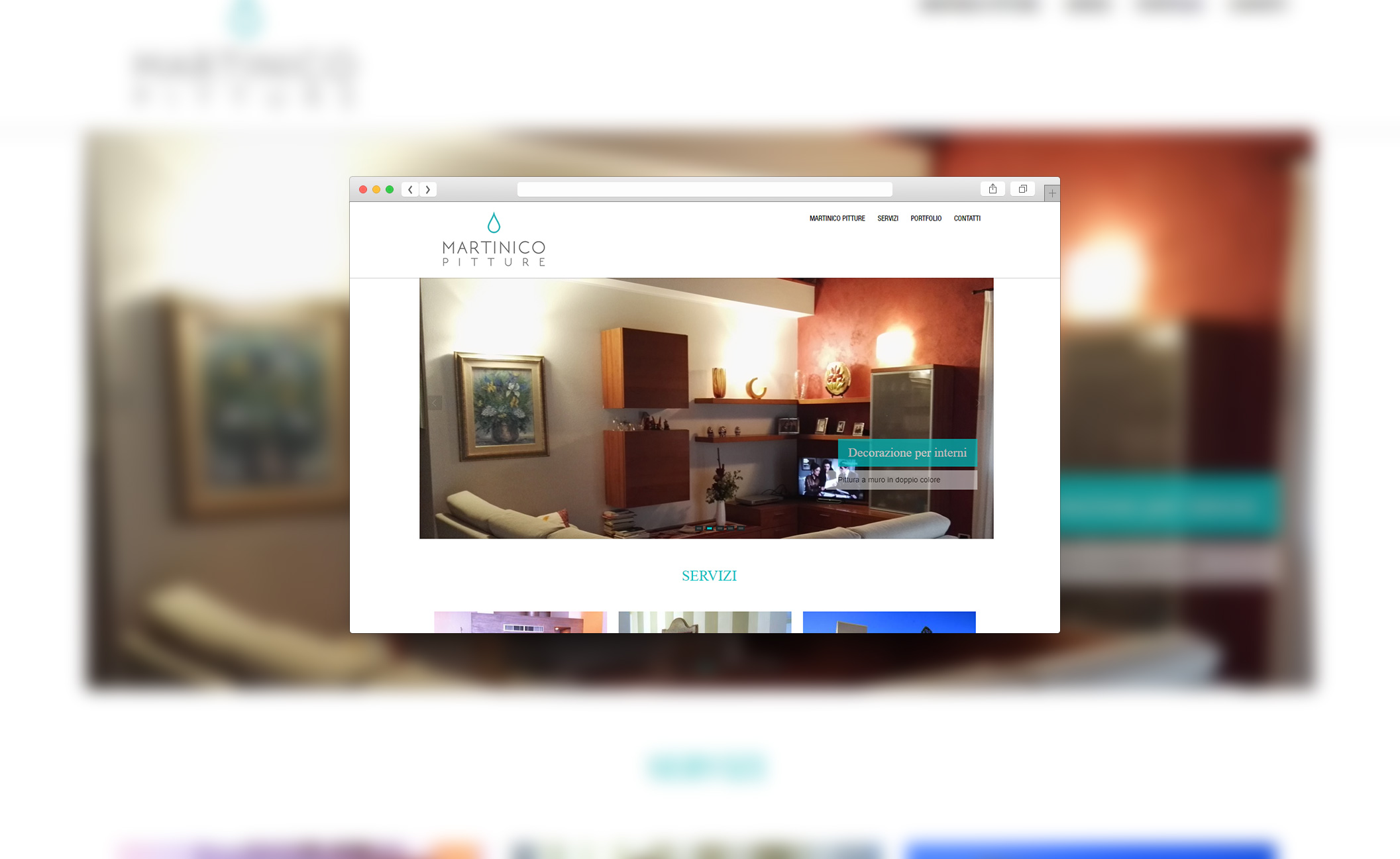 screen sito Martinico pitture
