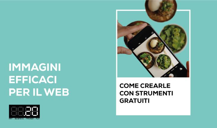 """Corso """"Immagini efficaci per il web: come crearle con strumenti gratuiti"""""""