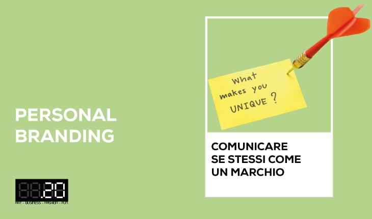 """Corso """"Personal branding: comunicare se stessi come un marchio"""""""