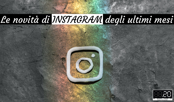 novità Instagram estate 2020