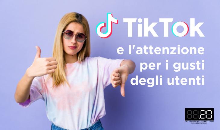 TikTok sondaggio utenti