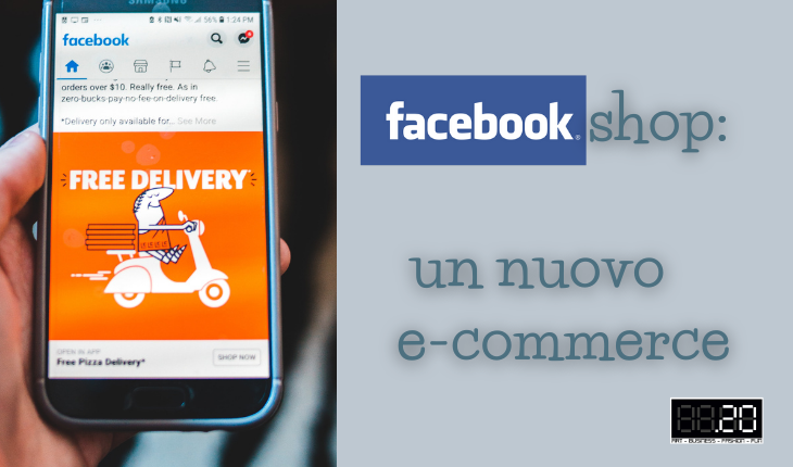facebook shop un nuovo e-commerce