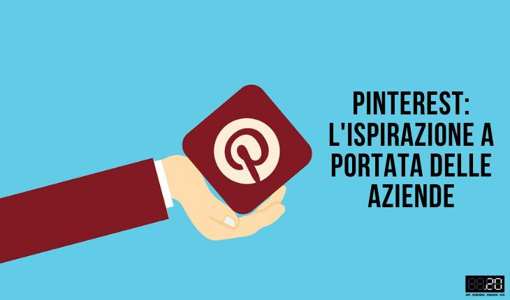 Pinterest importante possibilità per le aziende