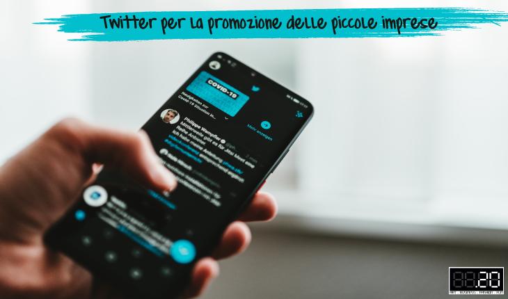 Twitter per le piccole imprese
