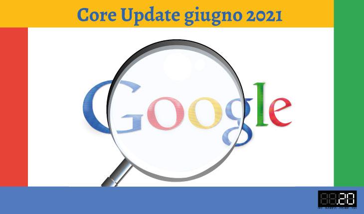 google core update giugno 2021